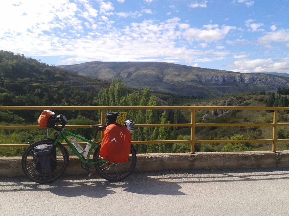 Mit dem Rad allein durch Albanien