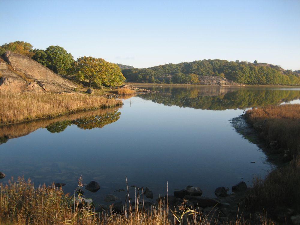 Wundervolle ruhige Landschaft, hier in Myggenäs