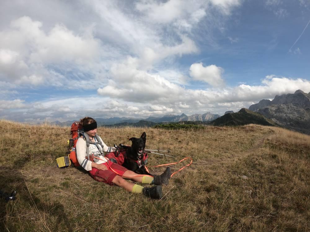 Trekking und Fernwandern mit Hund auf dem Peaks of the Balkans