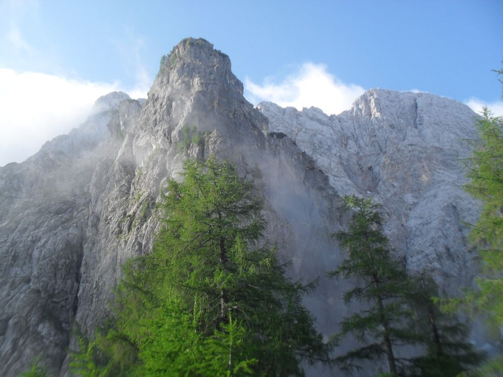 In den Slowenischen Alpen