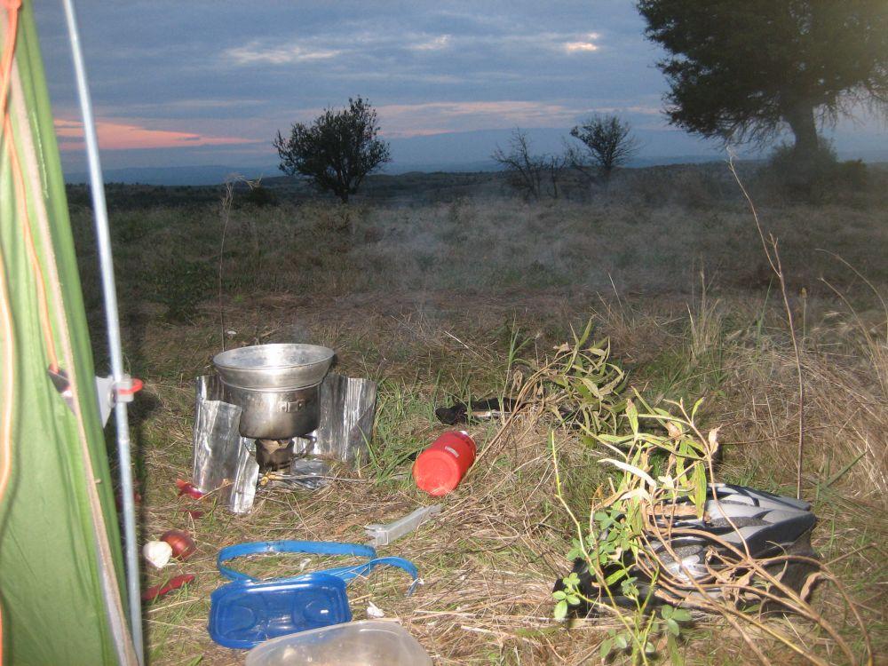 Kochen unterwegs