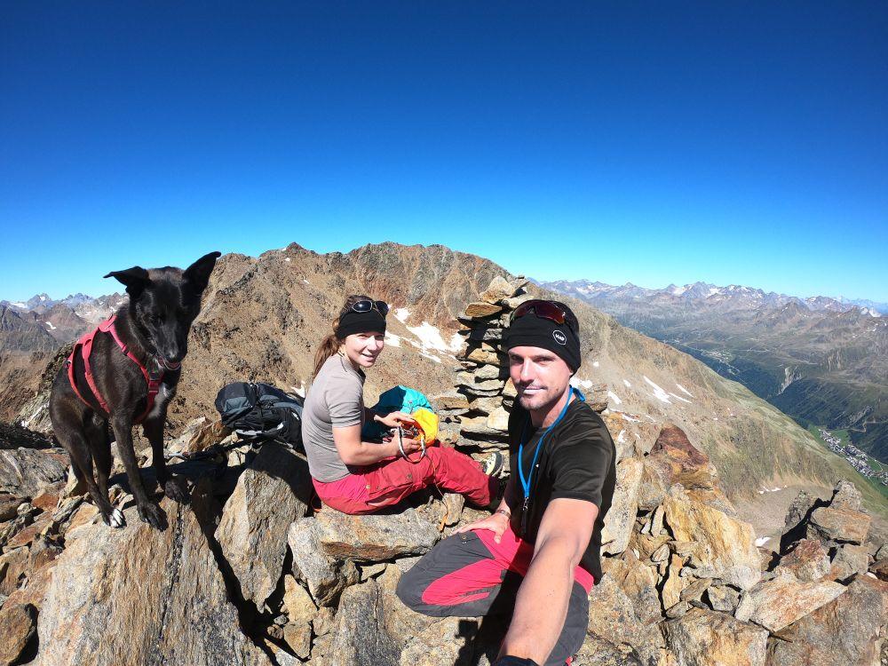 Bergtour mit Hund: Gampleskogel 3399 m