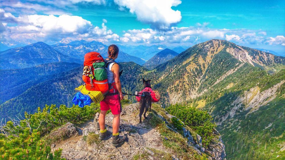Trekking mit Hund auf der Via Alpina