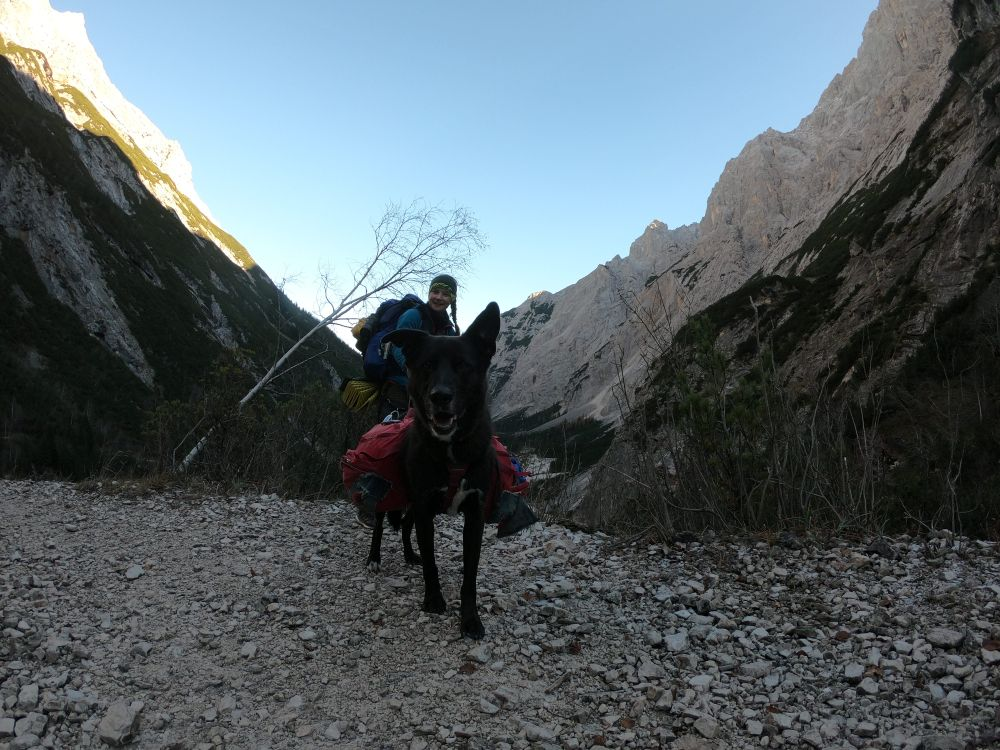 Langer Weg durchs Reintal