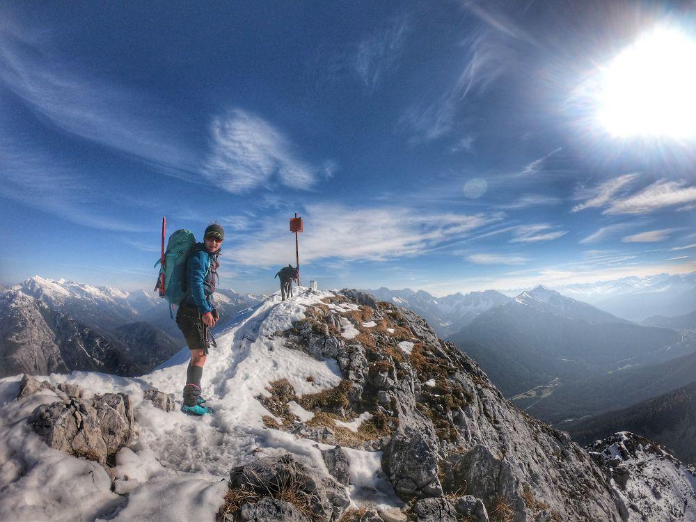 Bergtour mit Hund: Große Arnspitze (2196 m) – Wettersteingebirge