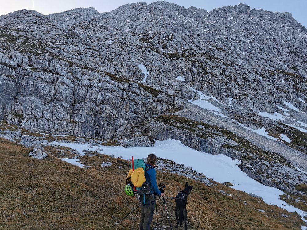 Gipfelaufbau Obere Wettersteinspitze