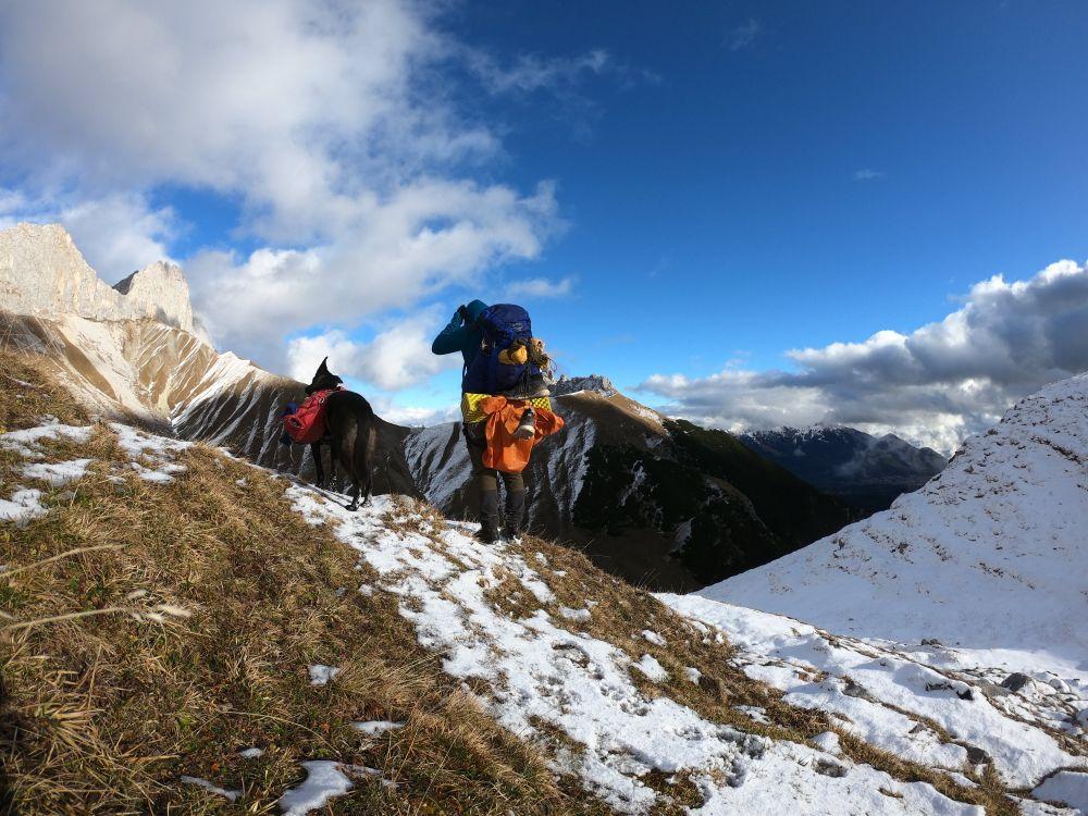Abstieg ins Puittal