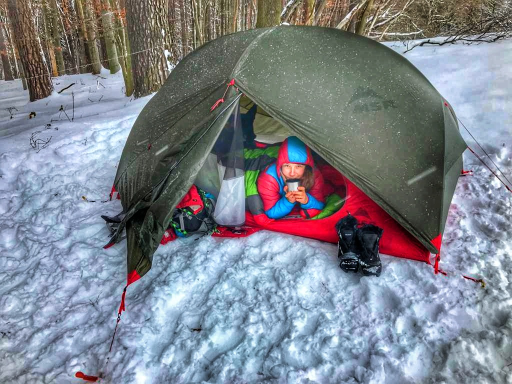 Wintertrekking – Backcountry Skitouren – Winterzelten mit Hund