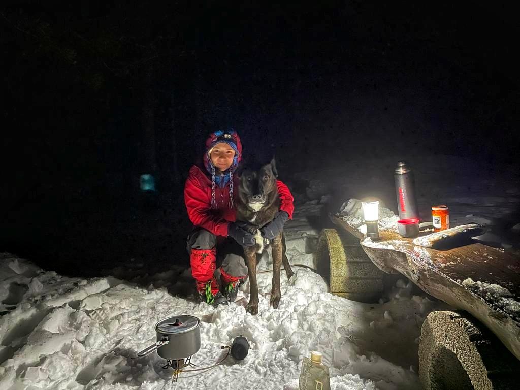 Abenteuer im Schnee - die Fellnase ist dabei! Wintertouren mit Hund