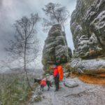 Trekking mit Hund im Elbsandsteingebirge