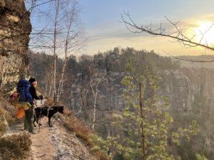 Microadventure – Trekking in der Sächsischen Schweiz mit Hund