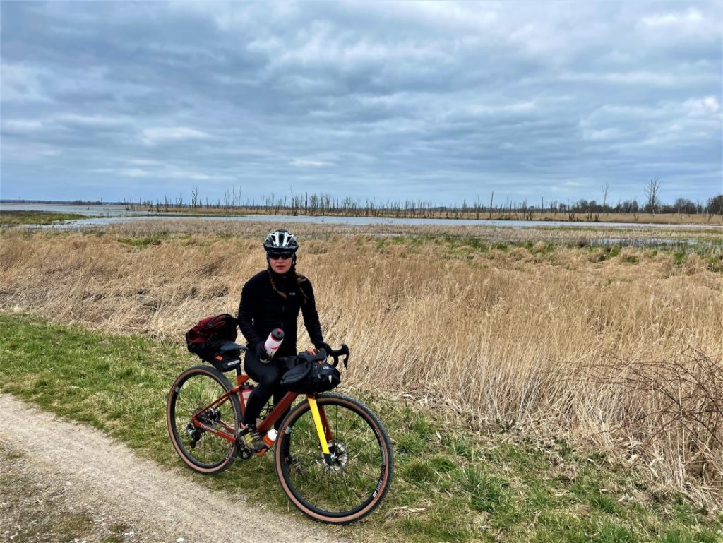 Bikepacking bei Gegenwind