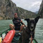 Kanu - Paddeln mit Hund