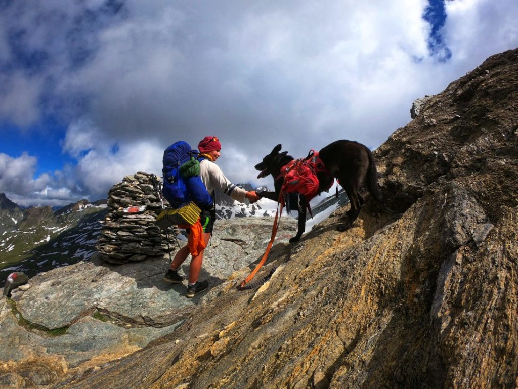 Sudetendeutscher Höhenweg mit Hund
