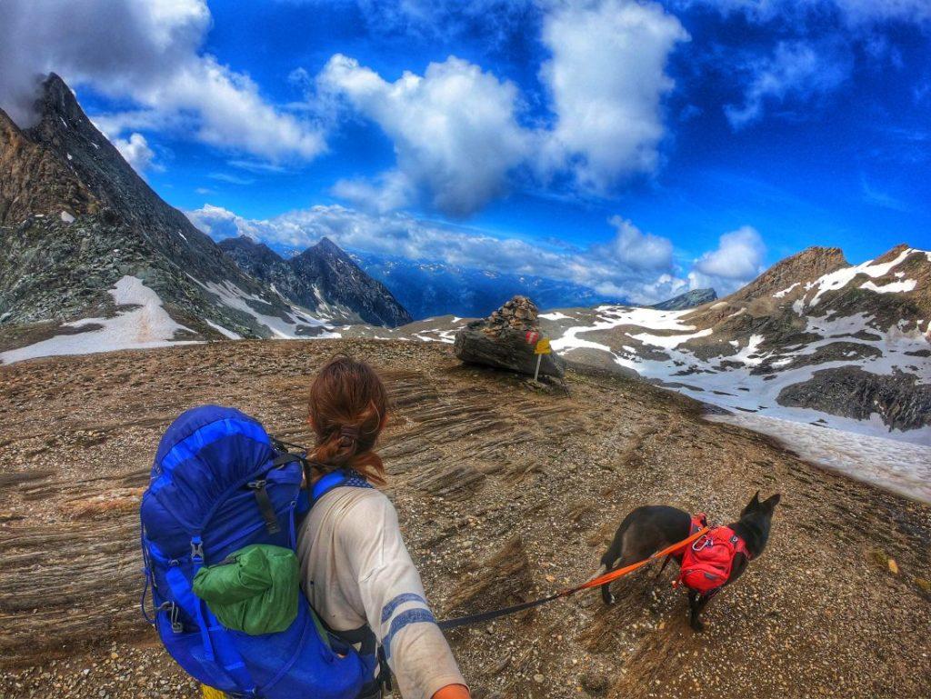Gradötzsattel - Trekking mit Hund /Adlerweg/Silesia-Höhenweg