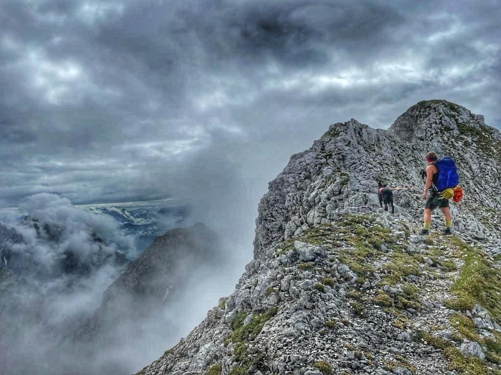 Gipfelgrat des Treffauer