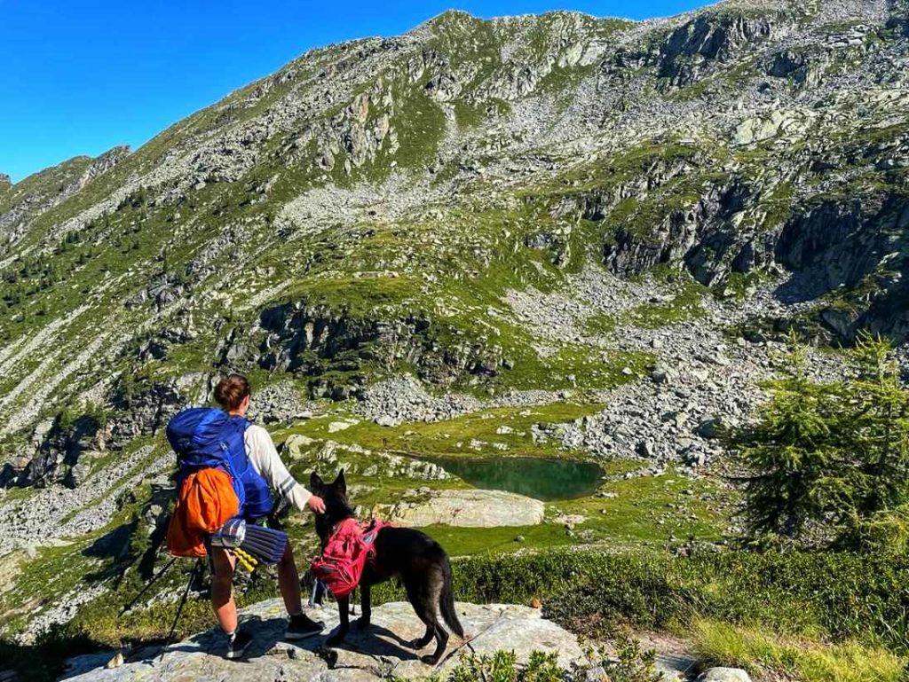 Bergseen - Wandern mit Hund im Aostatal