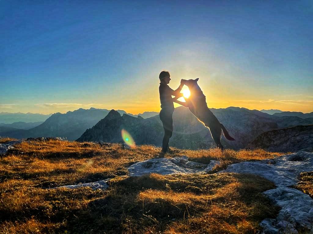 Trekking mit Hund – Über das Tennengebirge